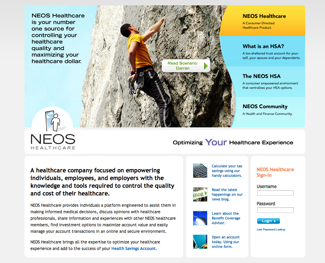 neos-healthcare-web-site