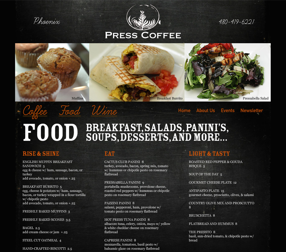 press-coffee-roasters-food